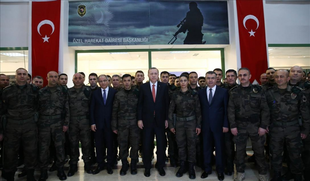 Cumhurbaşkanı Erdoğan'dan güvenlik güçlerine ziyaret 2