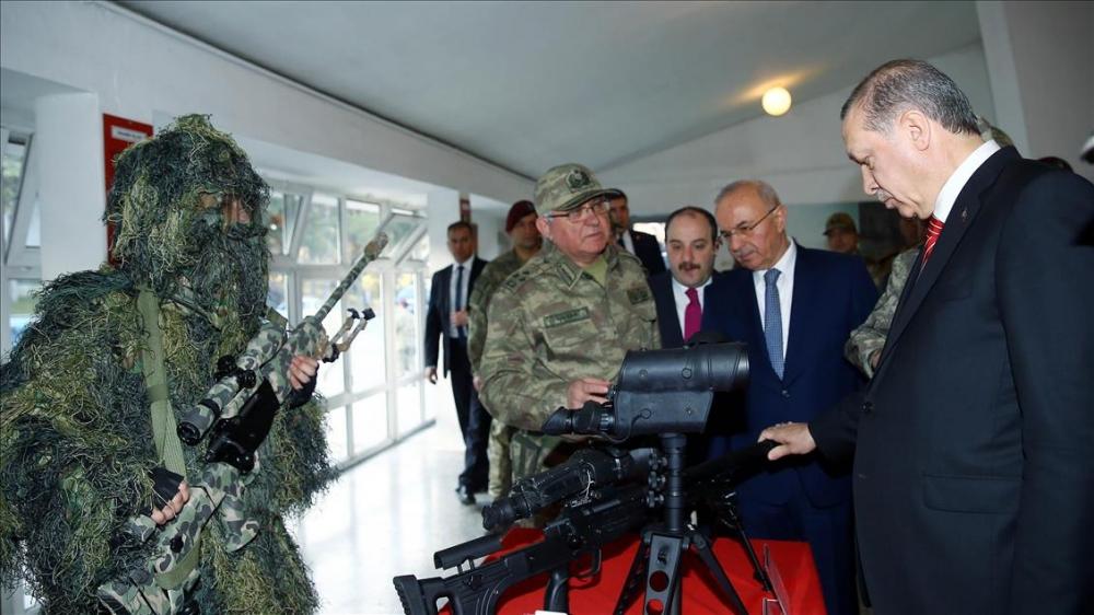 Cumhurbaşkanı Erdoğan'dan güvenlik güçlerine ziyaret 5