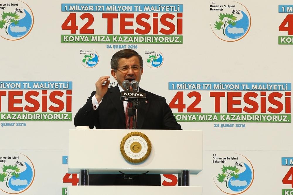 Davutoğlu'nun katılımıyla Konya'ya büyük yatırım 20