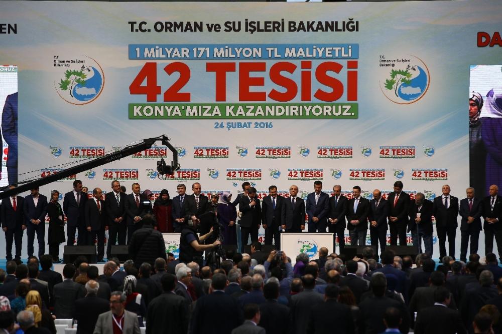 Davutoğlu'nun katılımıyla Konya'ya büyük yatırım 21