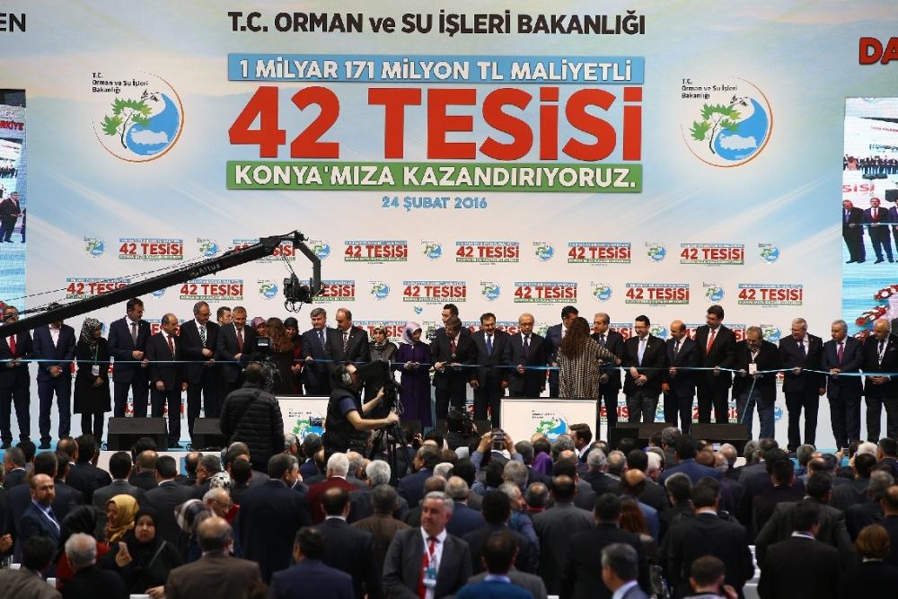 Davutoğlu'nun katılımıyla Konya'ya büyük yatırım 22