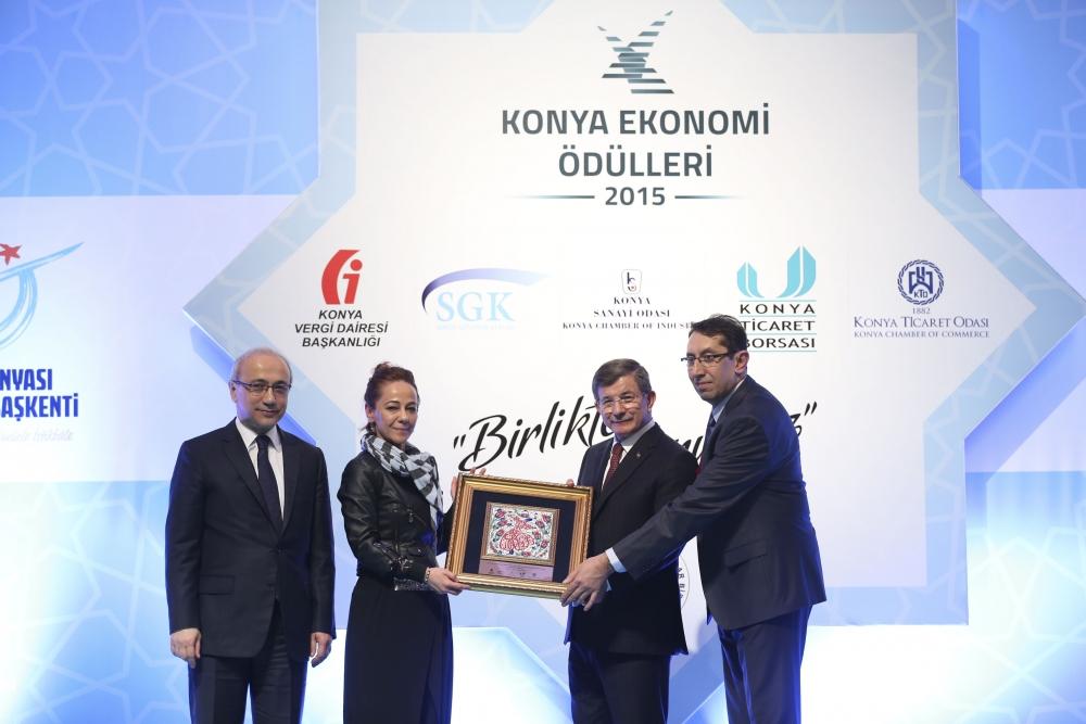 Konya Ekonomi Ödülleri sahiplerini buldu 13