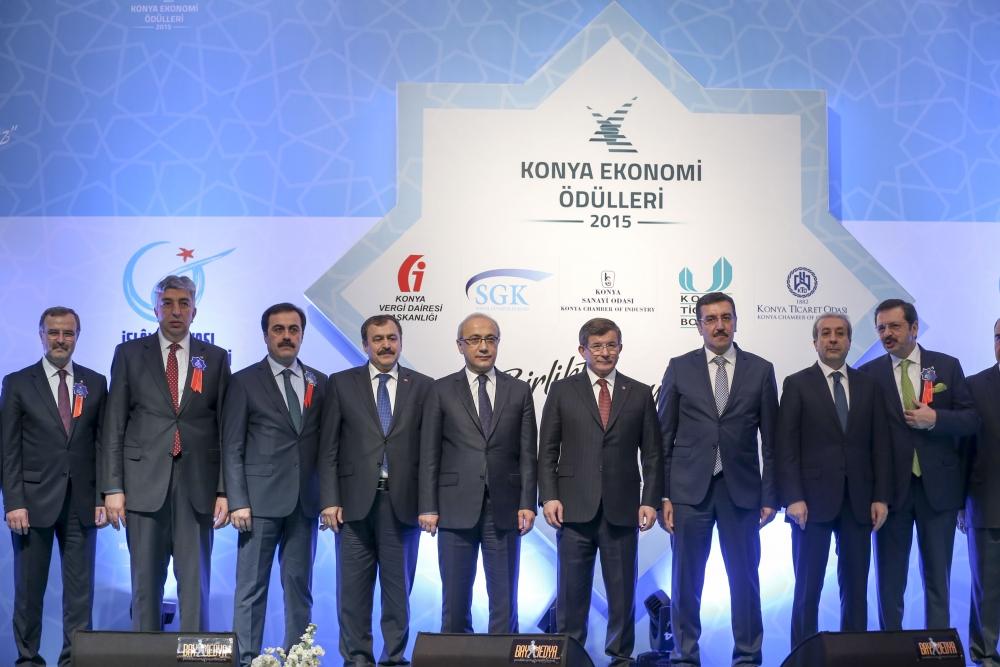 Konya Ekonomi Ödülleri sahiplerini buldu 15