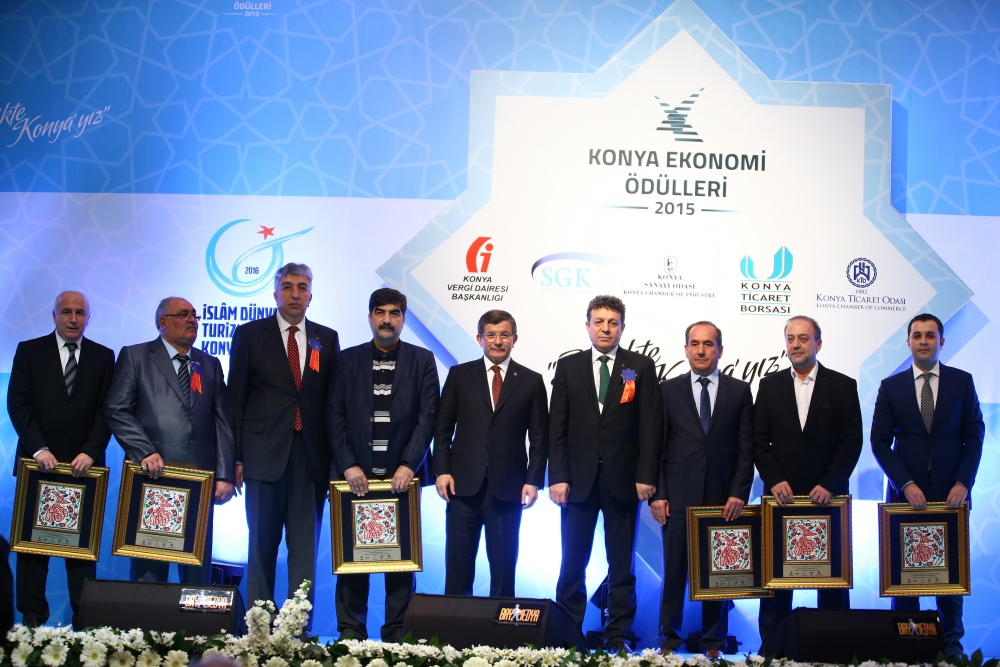 Konya Ekonomi Ödülleri sahiplerini buldu 5