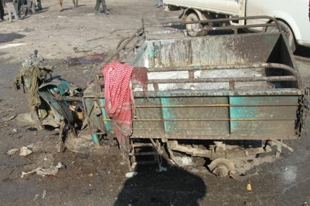 Halep'te varil bombalı saldırı 1