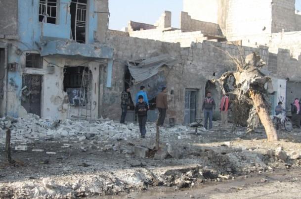 Halep'te varil bombalı saldırı 10