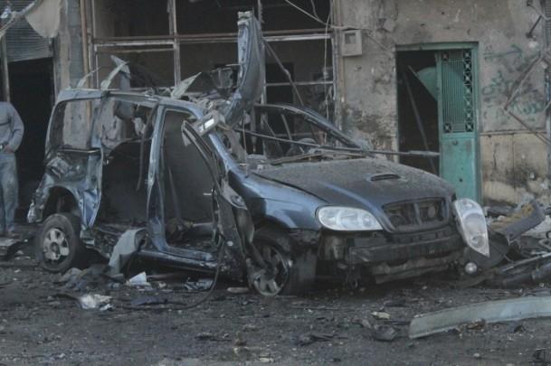 Halep'te varil bombalı saldırı 11