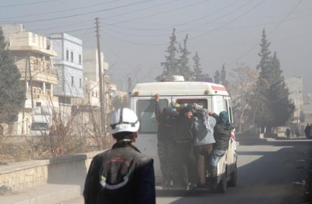 Halep'te varil bombalı saldırı 13