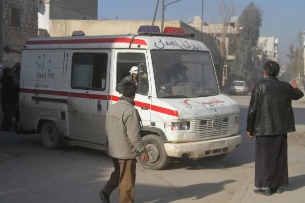 Halep'te varil bombalı saldırı 15