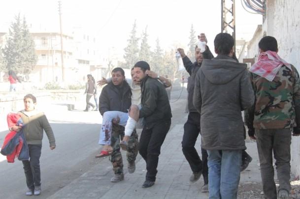 Halep'te varil bombalı saldırı 20