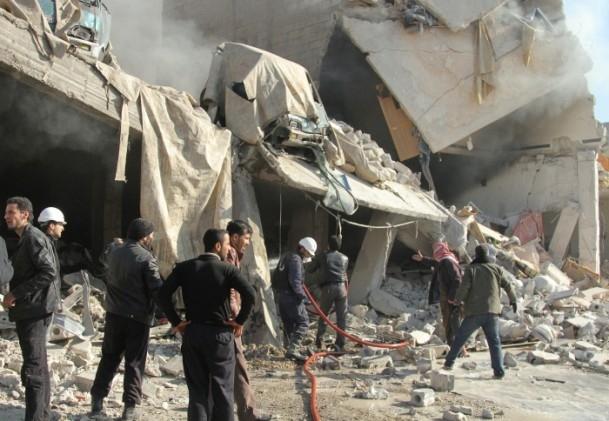 Halep'te varil bombalı saldırı 23