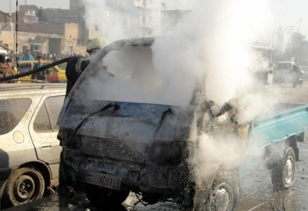 Halep'te varil bombalı saldırı 24