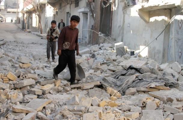 Halep'te varil bombalı saldırı 3