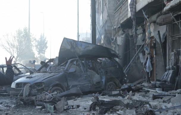 Halep'te varil bombalı saldırı 4