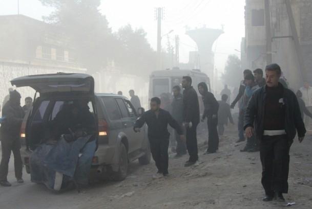 Halep'te varil bombalı saldırı 5