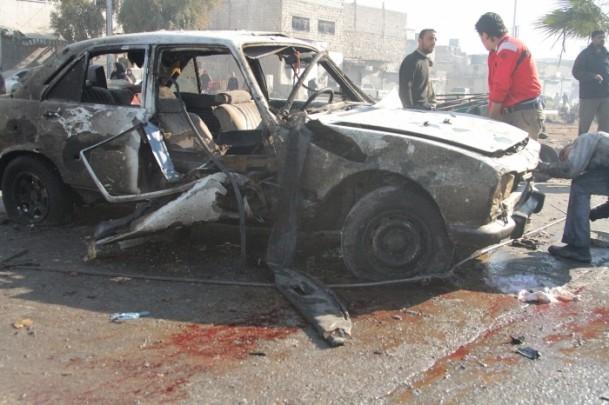 Halep'te varil bombalı saldırı 6
