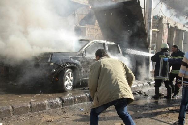 Halep'te varil bombalı saldırı 7