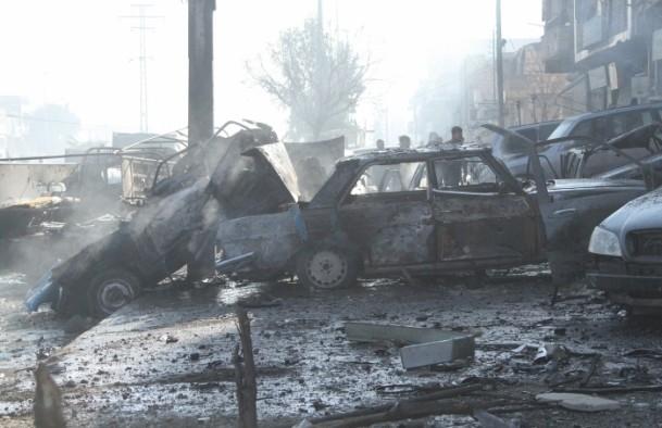 Halep'te varil bombalı saldırı 8