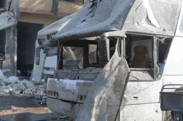 Halep'te varil bombalı saldırı 9