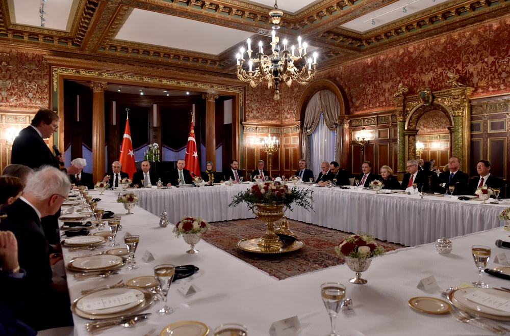 Cumhurbaşkanı Erdoğan ABD'de 3