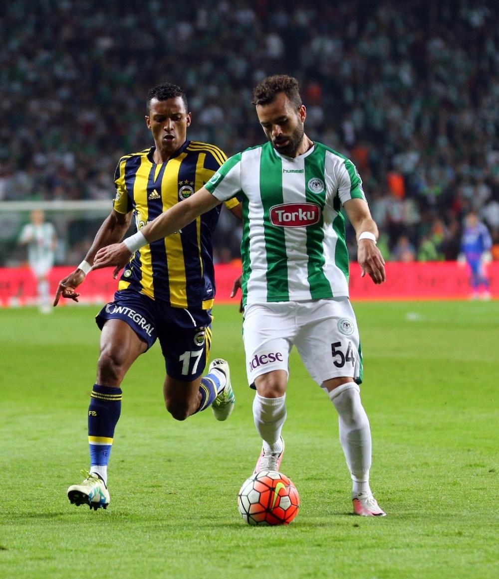 T. Konyaspor'un Fener alayı: 2-1 21