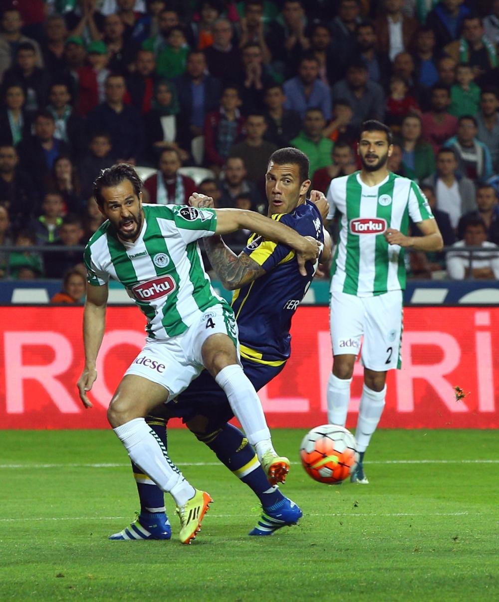 T. Konyaspor'un Fener alayı: 2-1 9