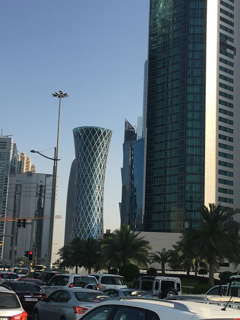 Ahmet Davutoğlu gazetecilerle birlikte Katar'a gitti 28