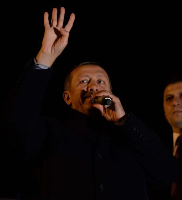Başbakan Erdoğan'a Trabzon'da kefenli karşılama 2