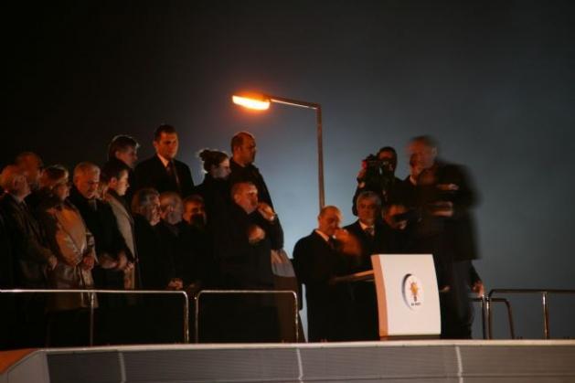 Başbakan Erdoğan'a Trabzon'da kefenli karşılama 3
