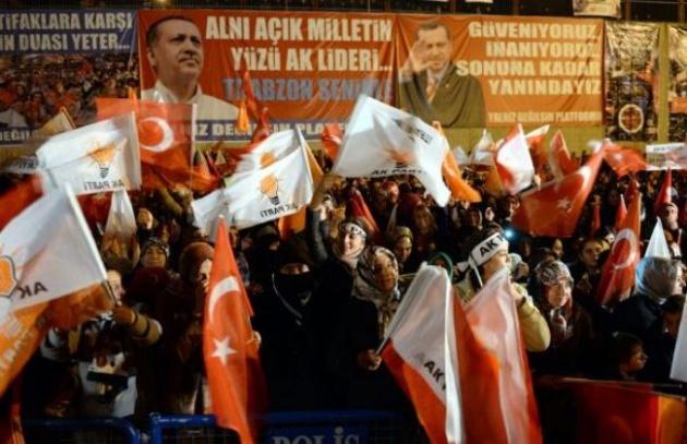 Başbakan Erdoğan'a Trabzon'da kefenli karşılama 5