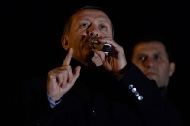 Başbakan Erdoğan'a Trabzon'da kefenli karşılama 6