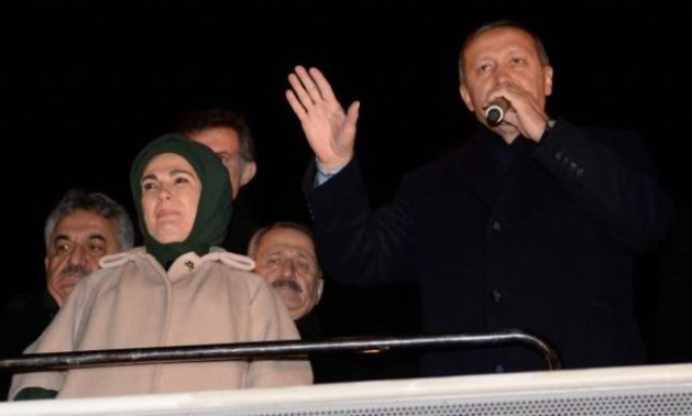 Başbakan Erdoğan'a Trabzon'da kefenli karşılama 7