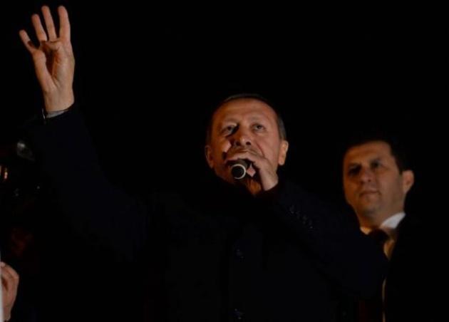 Başbakan Erdoğan'a Trabzon'da kefenli karşılama 8