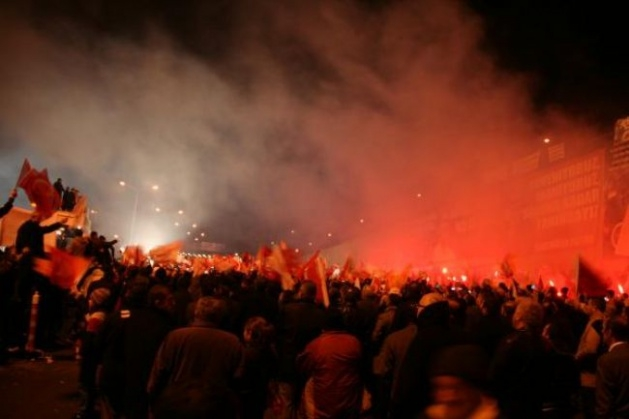 Başbakan Erdoğan'a Trabzon'da kefenli karşılama 9