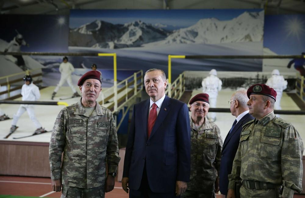Erdoğan'dan Özel Kuvvetler'e ziyaret 3