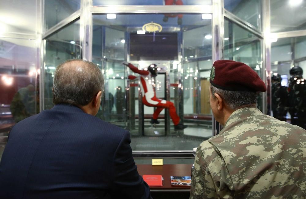 Erdoğan'dan Özel Kuvvetler'e ziyaret 4