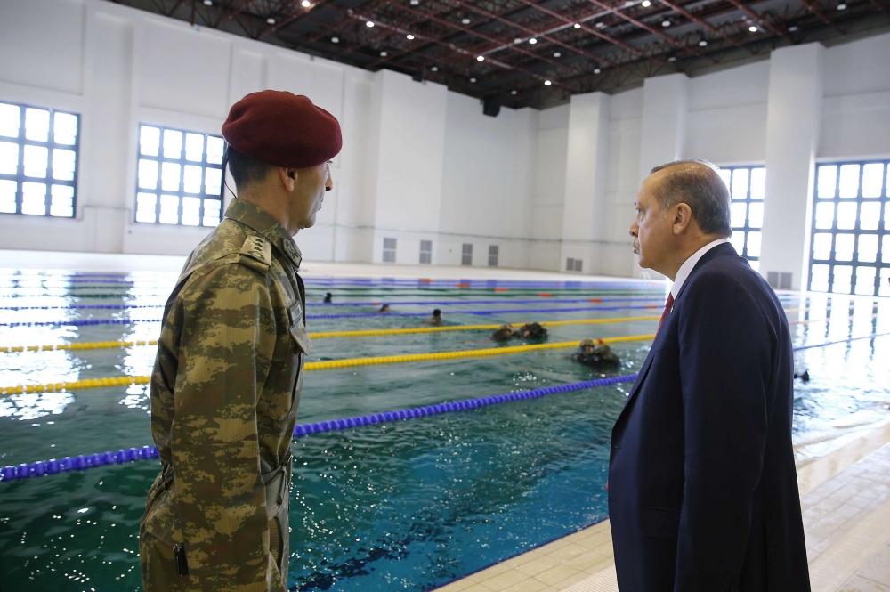 Erdoğan'dan Özel Kuvvetler'e ziyaret 5