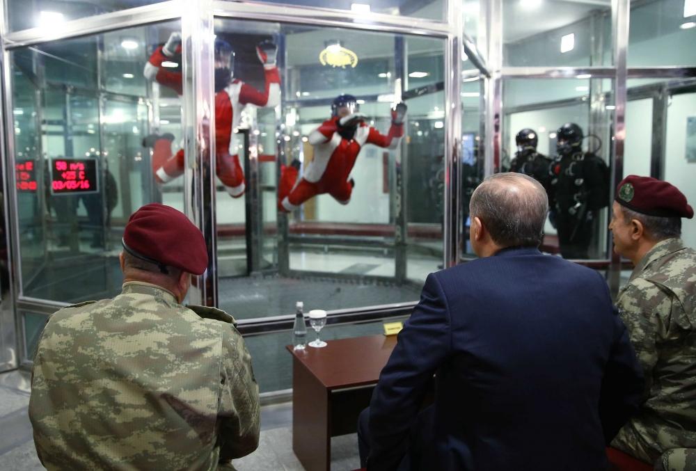 Erdoğan'dan Özel Kuvvetler'e ziyaret 6