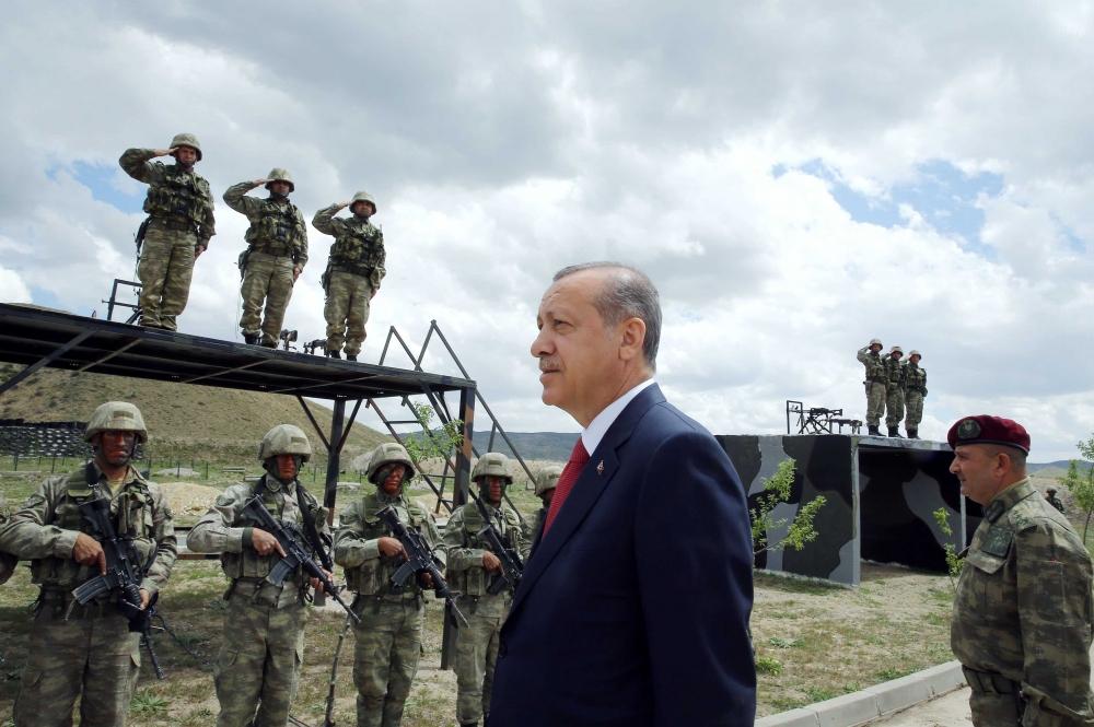 Erdoğan'dan Özel Kuvvetler'e ziyaret 9