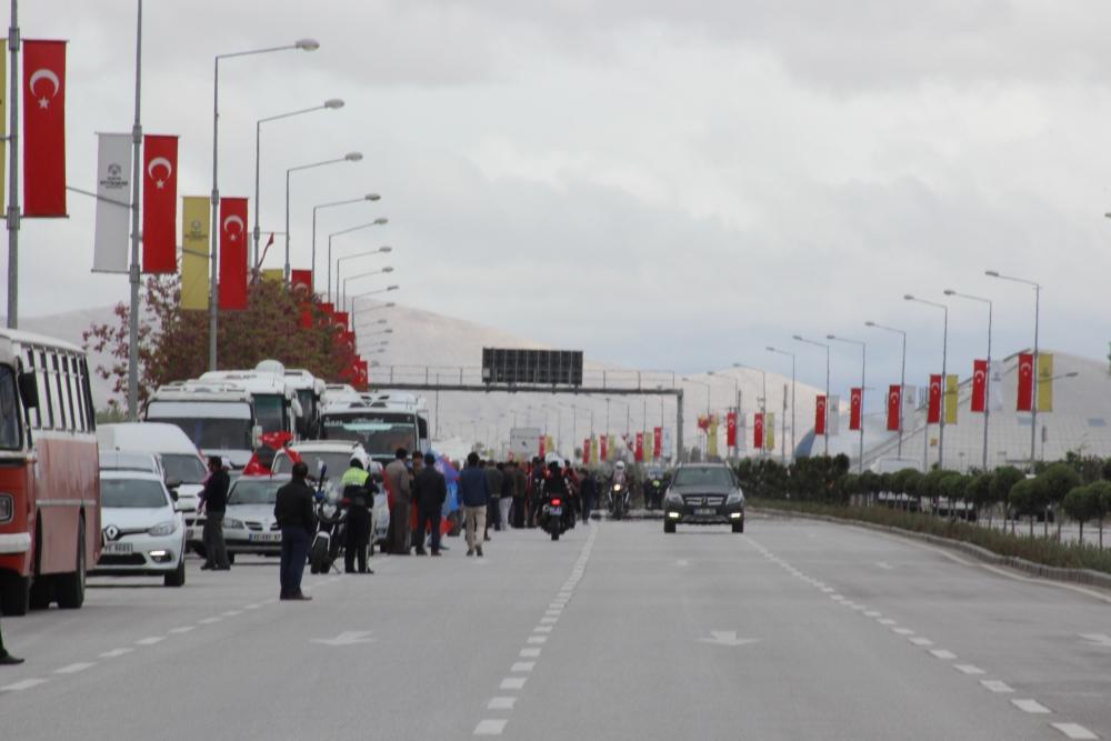 Konya Başbakanını bekliyor 11
