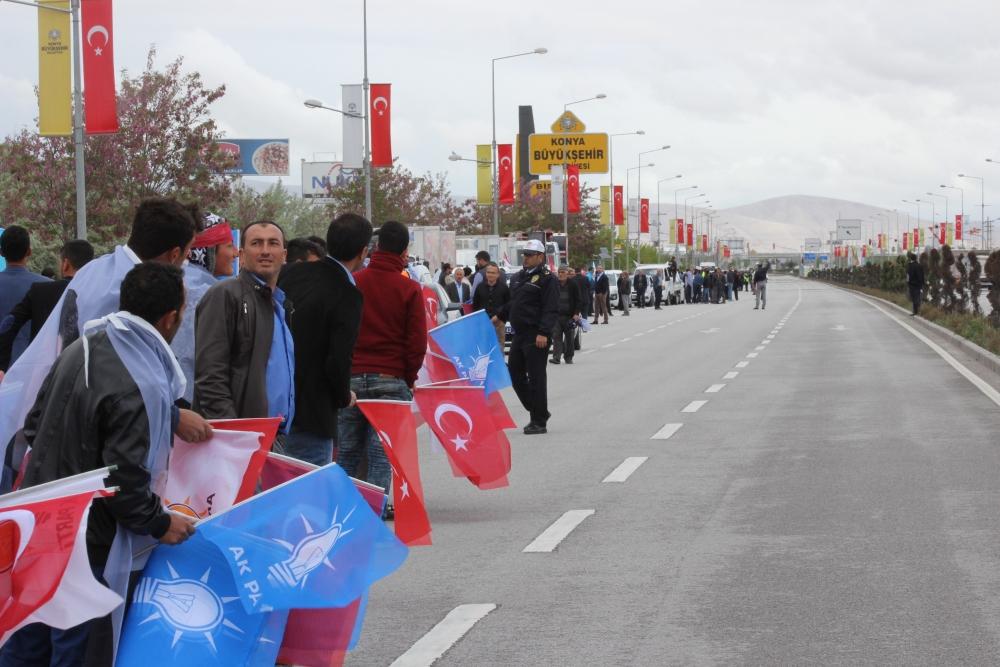 Konya Başbakanını bekliyor 17
