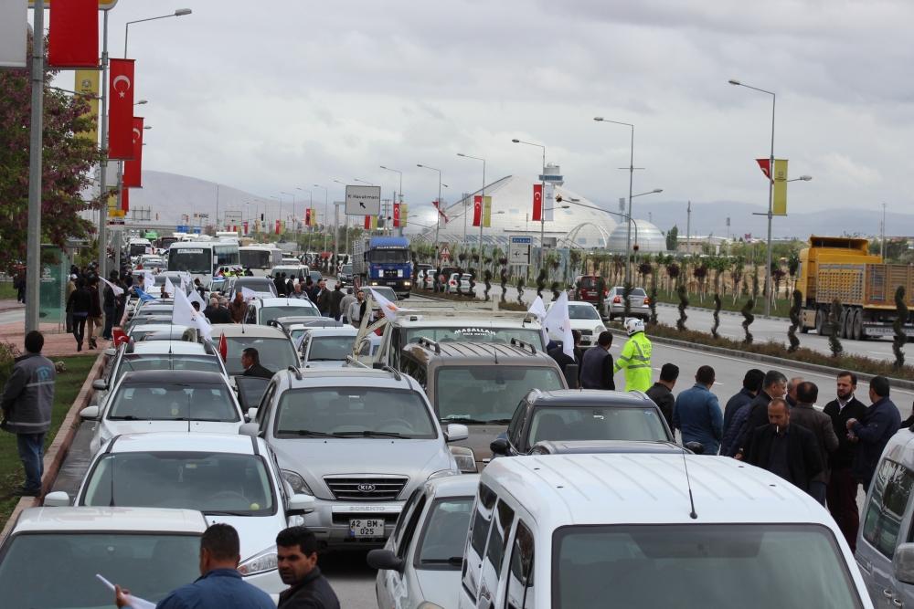 Konya Başbakanını bekliyor 9