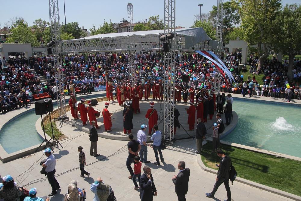 Konya'da Engelliler Haftası etkinlikleri 1