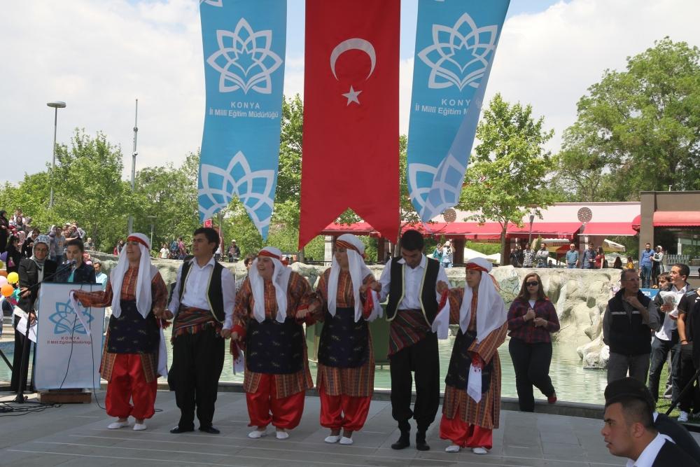 Konya'da Engelliler Haftası etkinlikleri 6