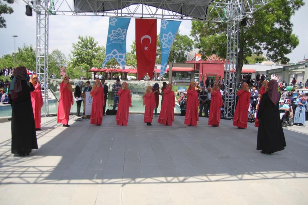 Konya'da Engelliler Haftası etkinlikleri 9