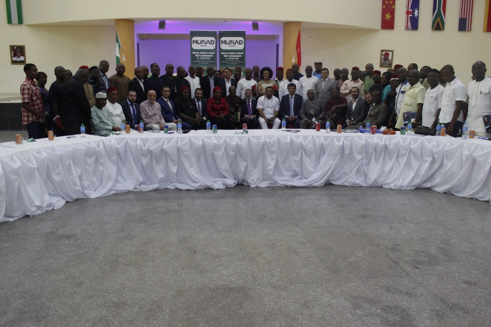 MÜSİAD Konya heyeti Nijerya'da 5