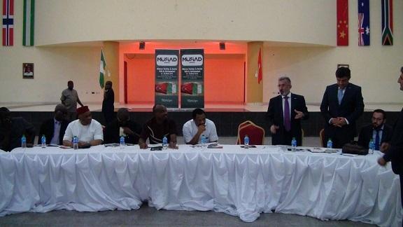 MÜSİAD Konya heyeti Nijerya'da 7