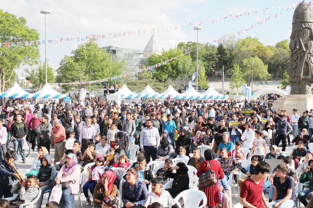 Ümmetin gençleri Türkiye'de buluşuyor 9