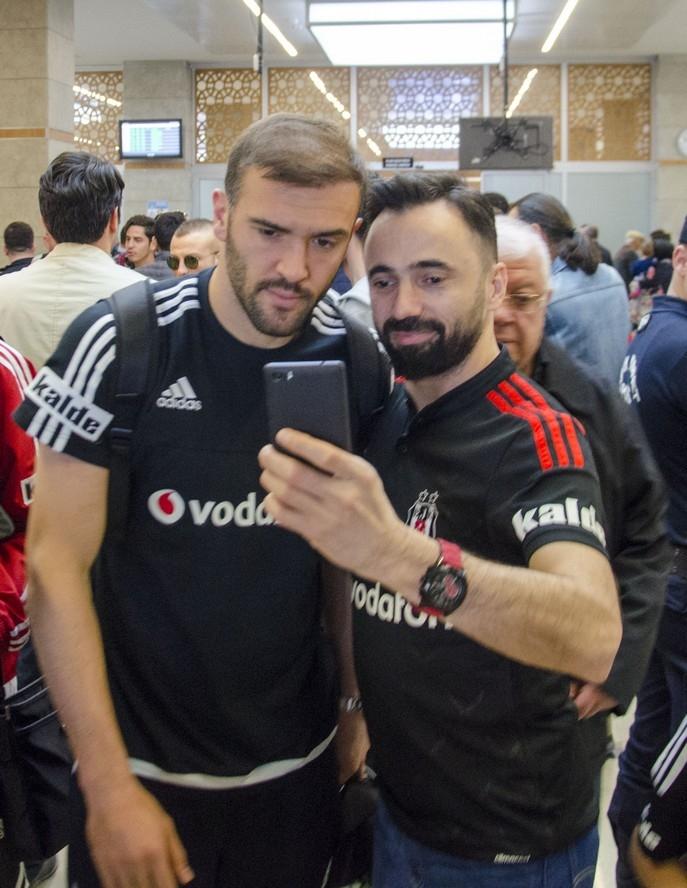 Beşiktaş kafilesi Konya'da 10