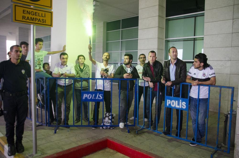 Beşiktaş kafilesi Konya'da 12